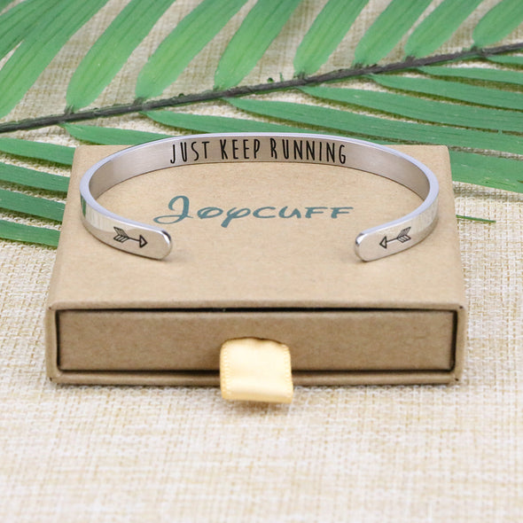 Runner Marathon Bangle