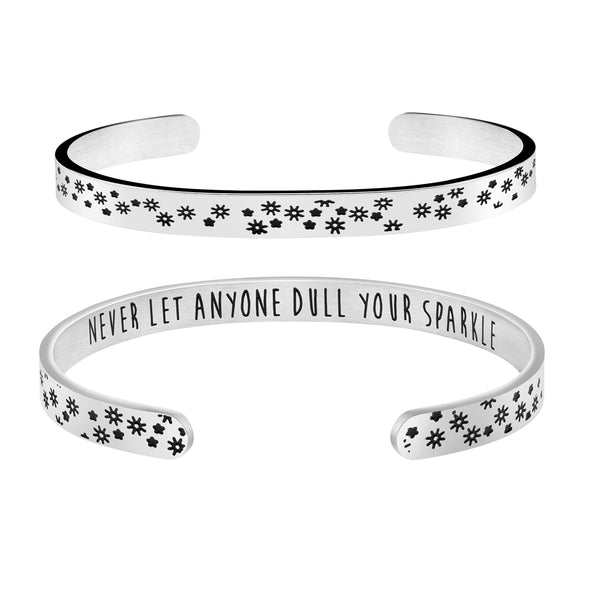 Never Let Anyone Dull Your Sparkle Back to School Jewelry