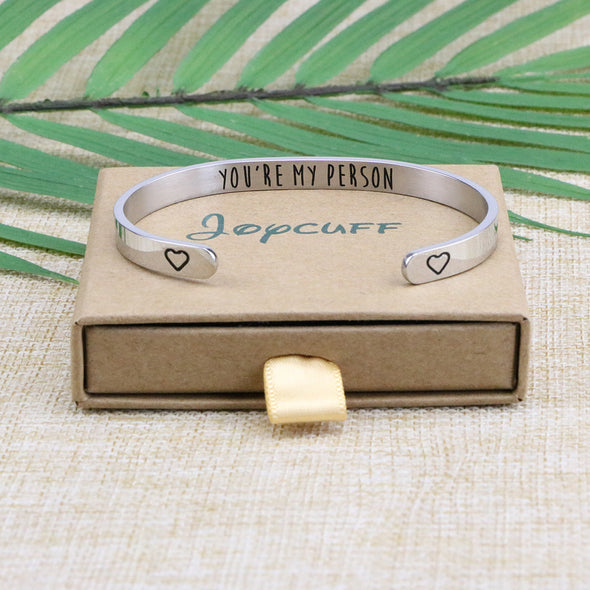 You're My Person Bridesmaid Bangle