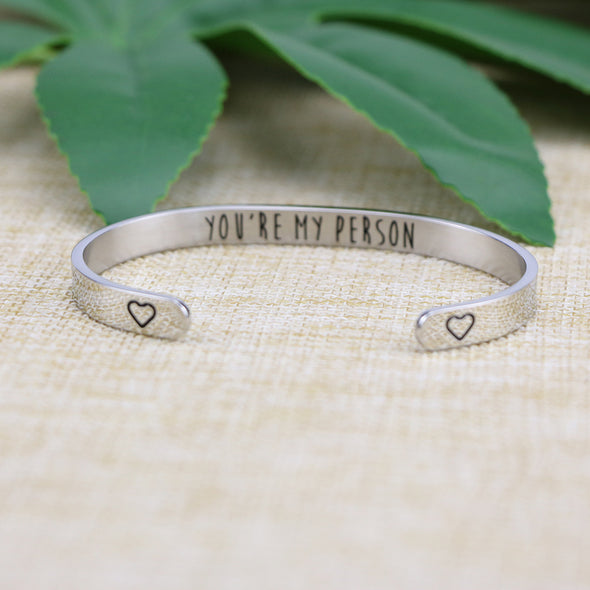 You're My Person Bridesmaid Bracelets