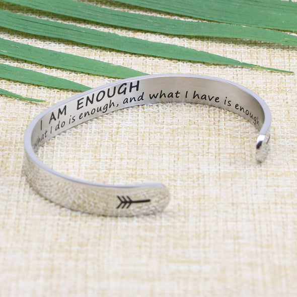 I am Enough bangle