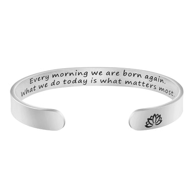 Every Morning We are Born Again Quote Encouraging Gift