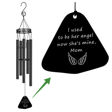 I used to be her angel now she is mine wind chimes