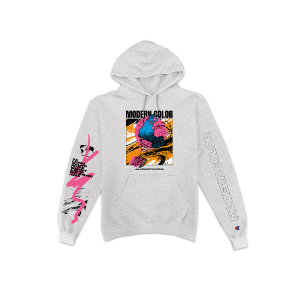 Modern Color 'From the Leaves of Your Garden' Champion Hoodie