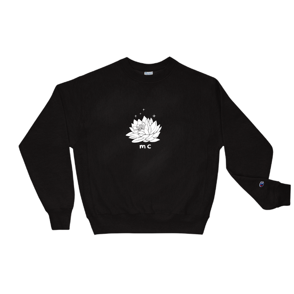 Modern Color Flower Crewneck