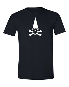 Cross Gnome T Shirt Black