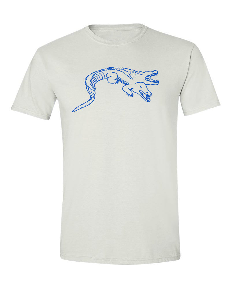 Siamese Crocodile T Shirt White