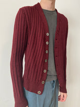 30s Heavy Knit Home-made Cardigan Sweater