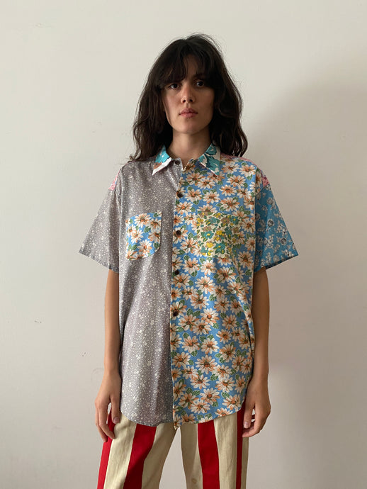 Patchwork Prairie Shirt - XL