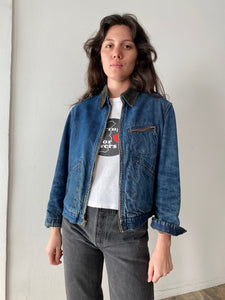 1940s Hercules Denim Lined Work Jacket