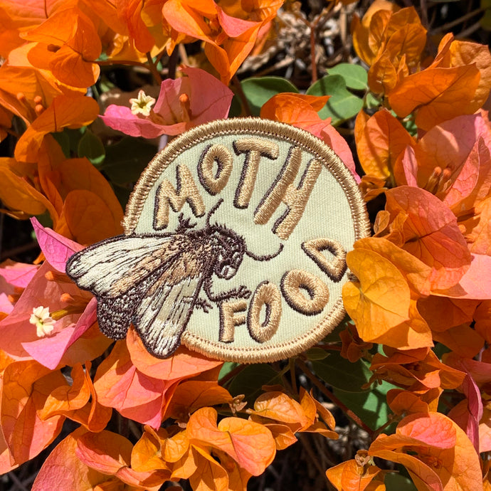 Mothfood Logo Patch