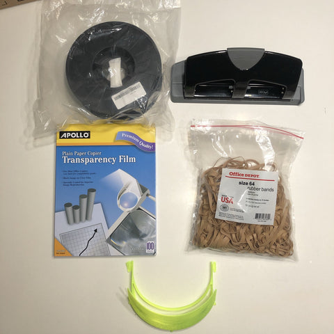 Face Shield Fabrication Starter Kit (AM)