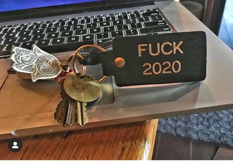 F *%# You 2020 Key Chain (LC)