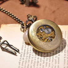 Load image into Gallery viewer, Antique Gold Pocket Watch