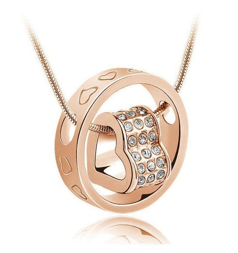 Forever Heart Pendant - Yellow Gold 2