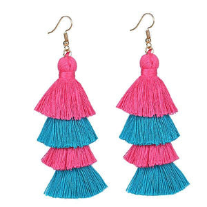 Fringe Long Summer Tassel Earring