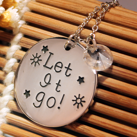 Let It Go - Pendant Necklace
