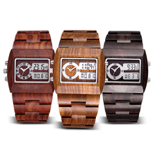Load image into Gallery viewer, Luxury Sandalwood Analog Watch