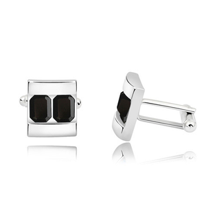Two Platinum Cufflink