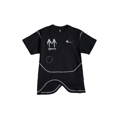 Nike x Off White Running Tee -Black, Clothing- dollarflexclub
