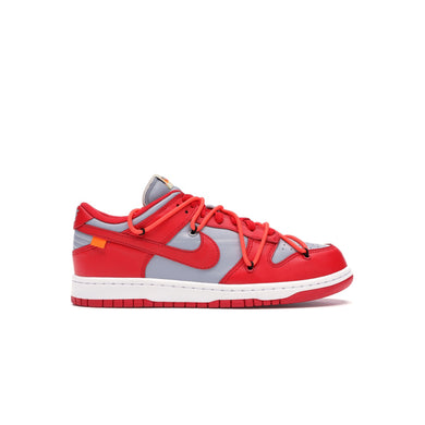 Nike x Off-White Dunk Low University Red, Shoe- dollarflexclub
