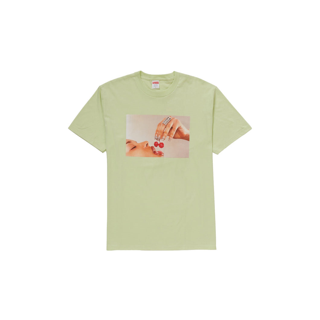 Supreme Cherries Tee Pale Mint, Clothing- dollarflexclub