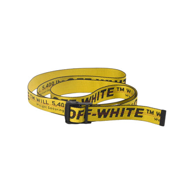 OFF-WHITE Industrial Belt (SS19) -Yellow/Black, Accessories- dollarflexclub