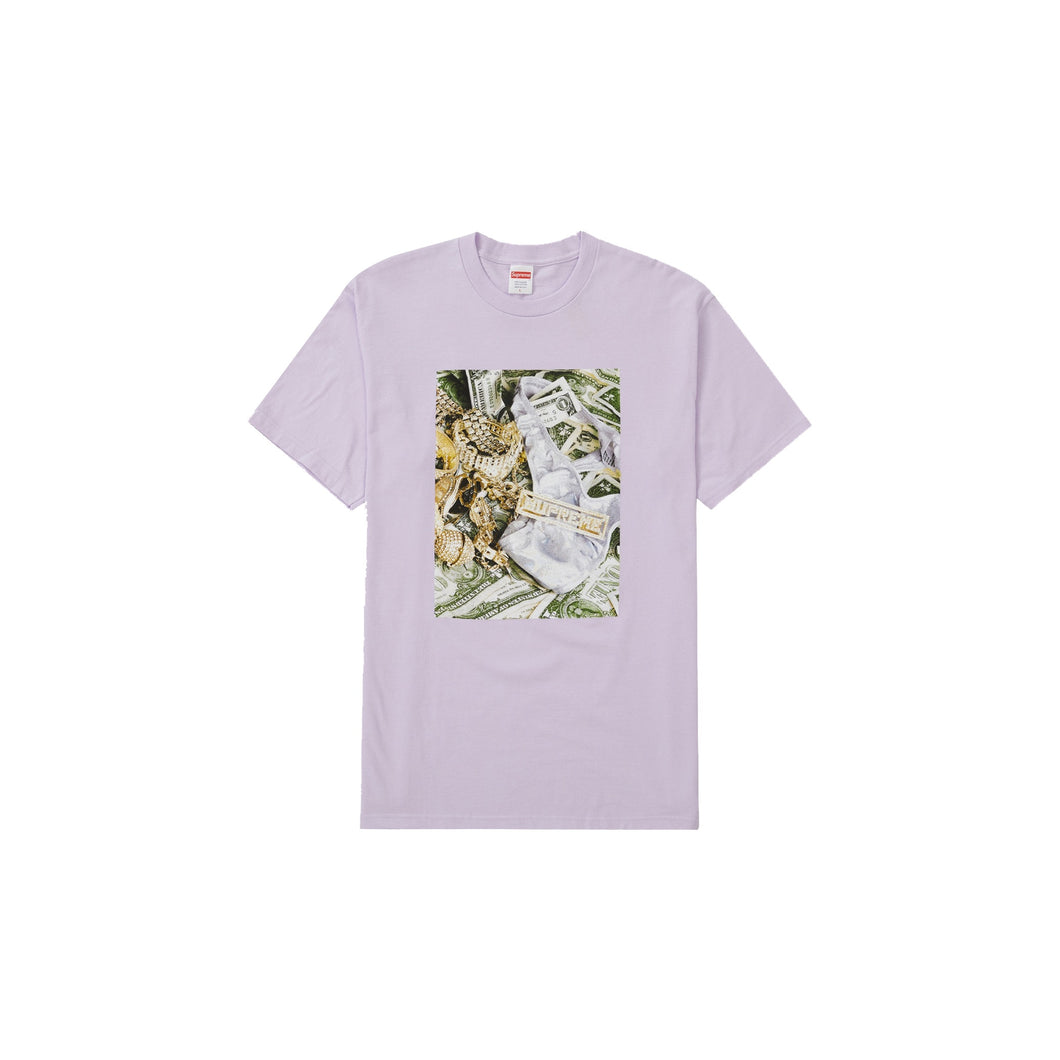 Supreme Bling Tee Light Purple, Clothing- dollarflexclub