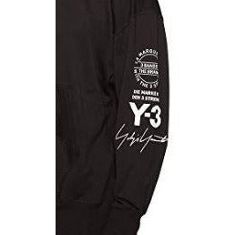 Y-3 x Adidas Crewneck Black, Clothing- dollarflexclub