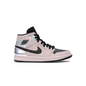 Jordan 1 Mid Dirty Powder Iridescent (W), Shoe- dollarflexclub