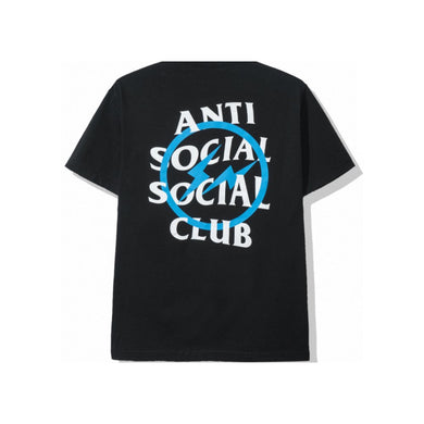 ASSC x Fragment Blue Bolt Tee, Clothing- dollarflexclub