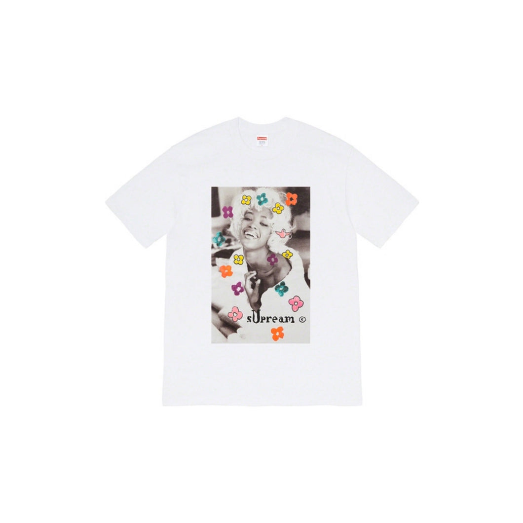 Supreme Naomi Tee White, Clothing- dollarflexclub