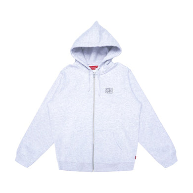 Supreme World Famous Hoodie Ash Grey, Clothing- dollarflexclub