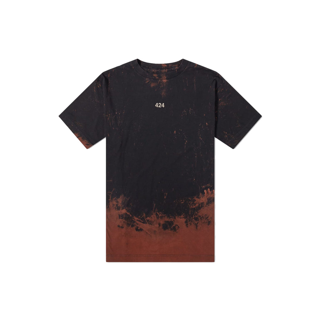 424 Reworked Bleached Tee, Clothing- dollarflexclub