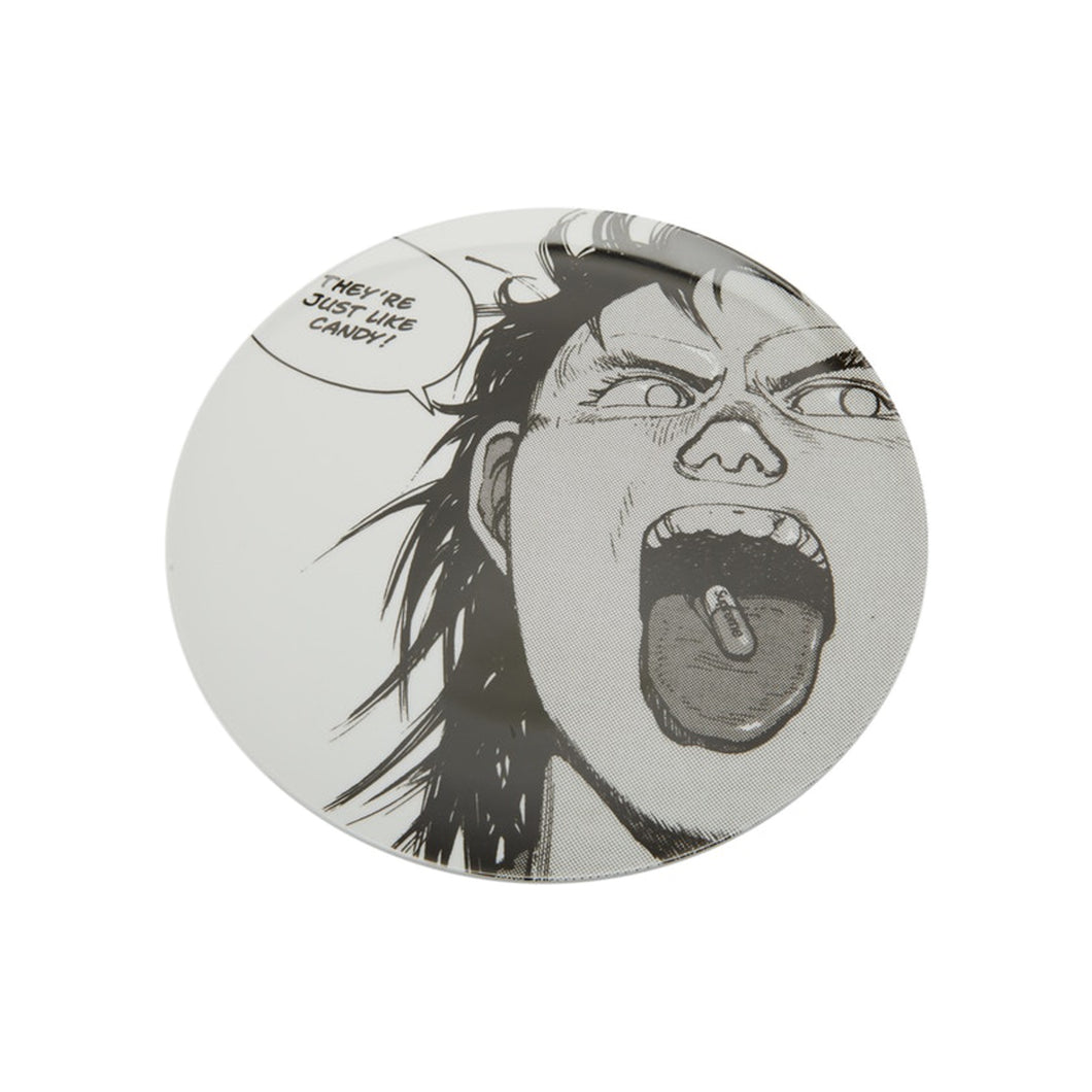 Supreme AKIRA Pill Ceramic Plate White, Collectibles- dollarflexclub