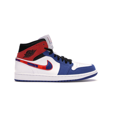 Jordan 1 Mid Multi-Color Swoosh, Shoe- dollarflexclub