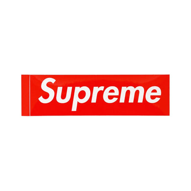 Supreme Box Logo Sticker -Red, Sticker- dollarflexclub