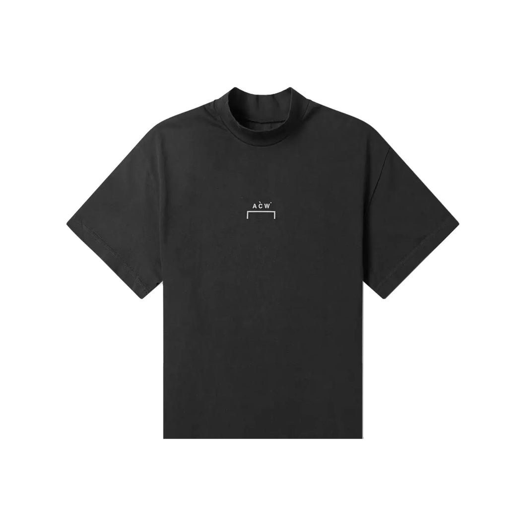 ACW Logo Mock Neck Tee, Clothing- dollarflexclub