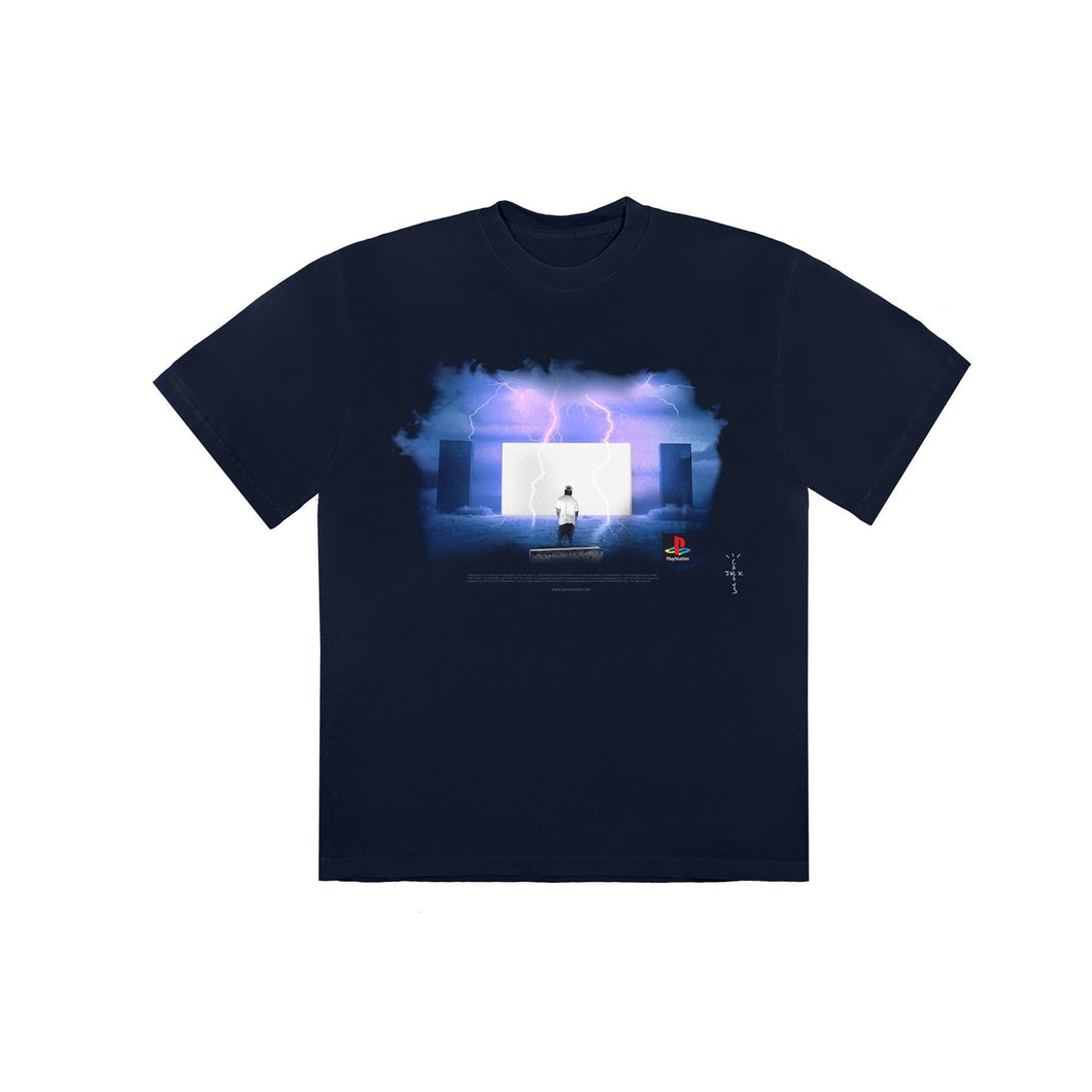Travis Scott Monolith Night T-Shirt Black