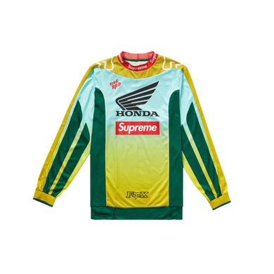 Supreme Honda Fox Racing Moto Jersey Top Moss, Clothing- dollarflexclub