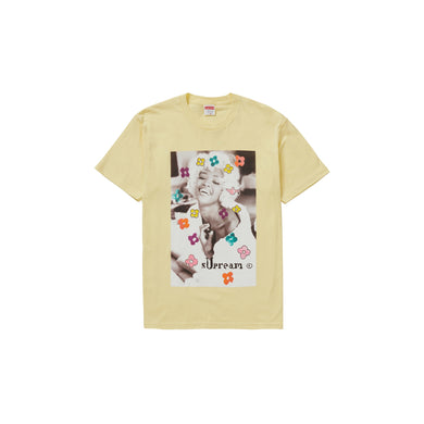 Supreme Naomi Tee Pale Yellow, Clothing- dollarflexclub