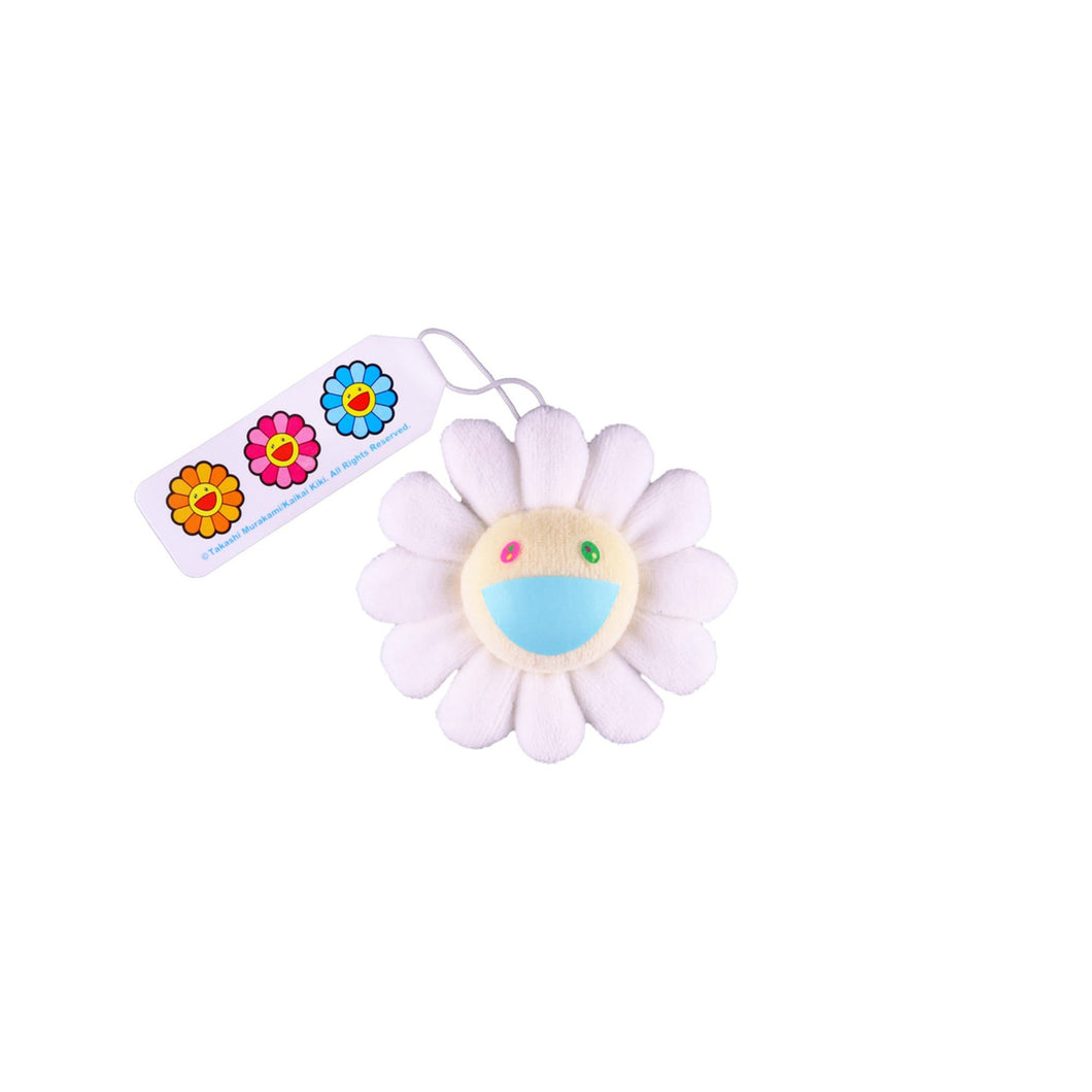 Takashi Murakami Flower Plush Pin White