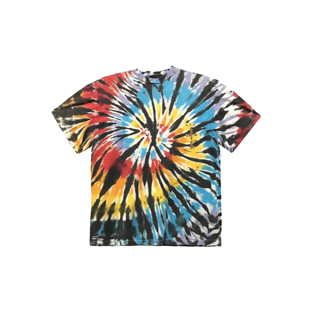 Travis Scott Tie Dye Tee, Clothing- dollarflexclub