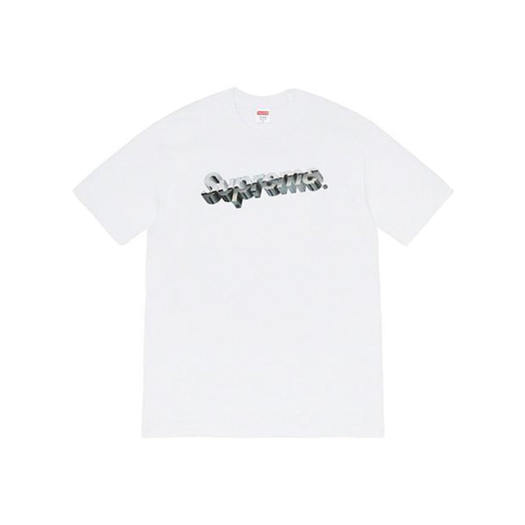 Supreme Chrome Logo Tee White