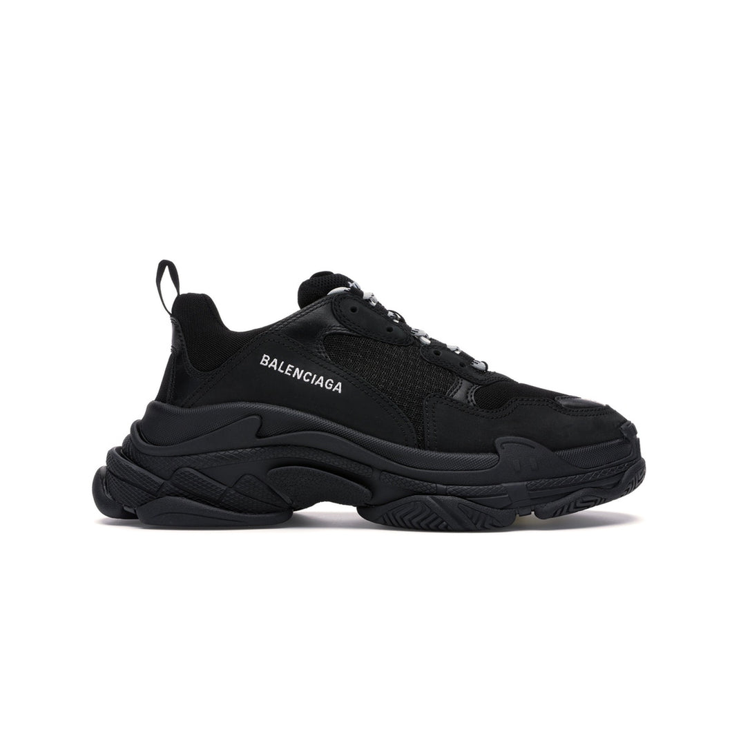 Balenciaga Triple S Black (2019) -(Box damaged), Shoe- dollarflexclub