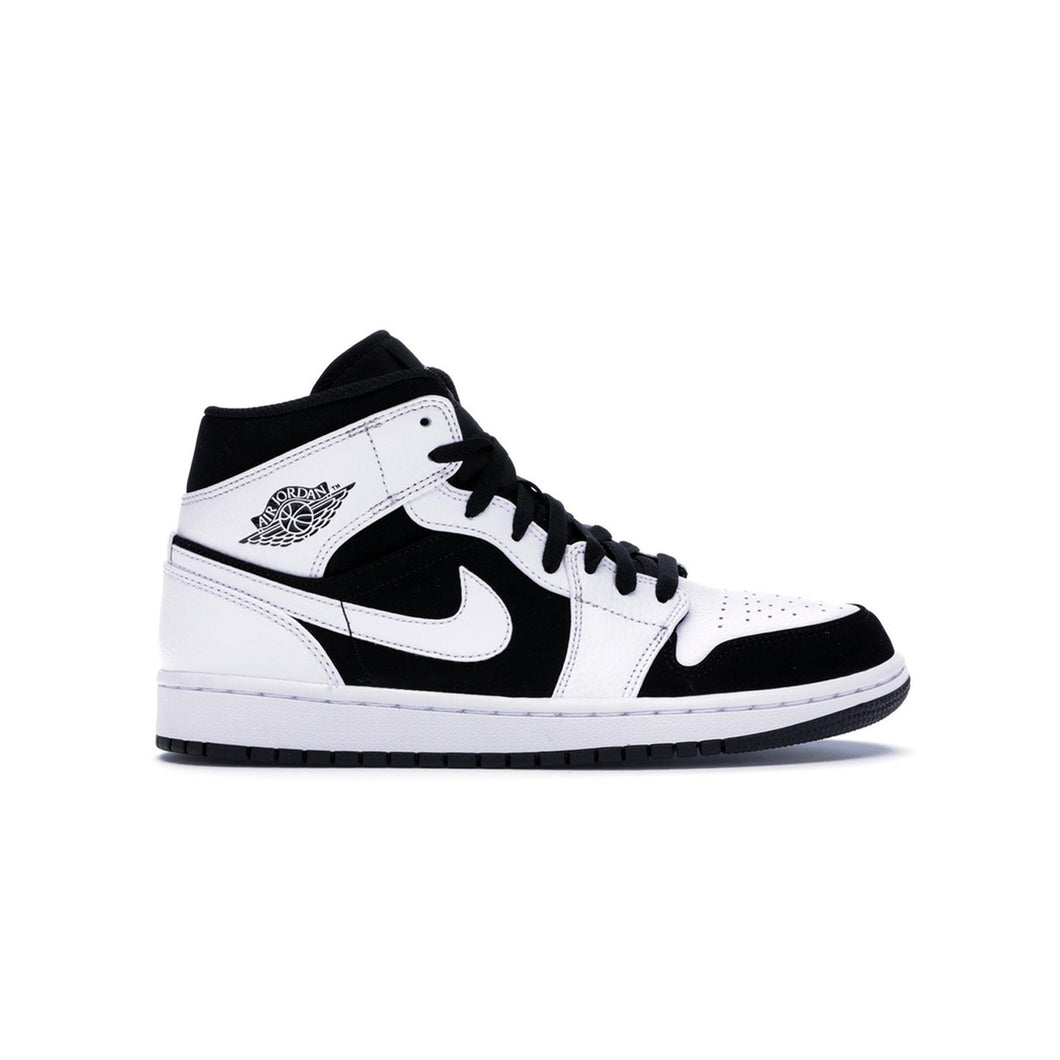 Jordan 1 Mid White Black, Shoe- dollarflexclub