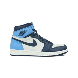 Jordan 1 Retro High Obsidian UNC, Shoe- dollarflexclub