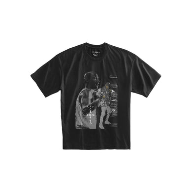 Travis Scott x Nike Jordan Tee -Black, Clothing- dollarflexclub