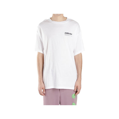Ambush Logo Tee -White, Clothing- dollarflexclub
