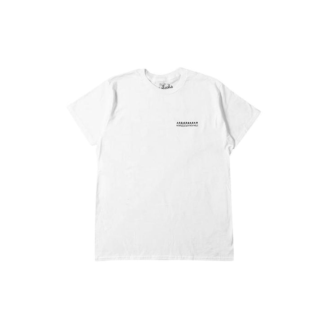 Tom Sachs Ten Bullet Tee -White, Clothing- dollarflexclub